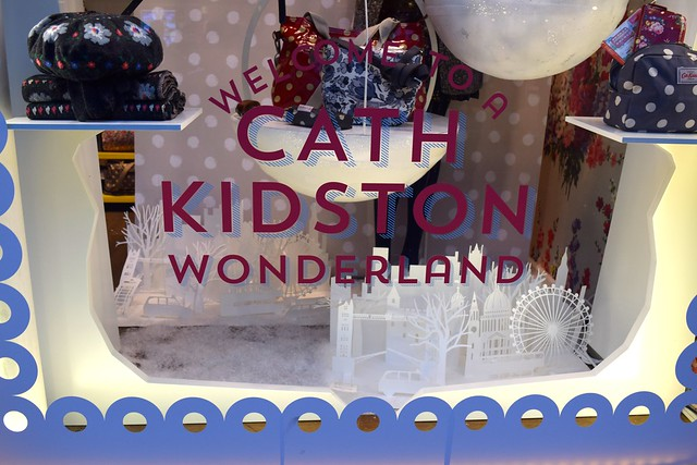 Cath Kidston Christmas Windows 2016, Canterbury | www.rachelphipps.com @rachelphipps