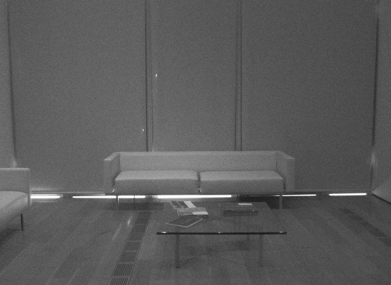 Sofa Not on Exhibit at the High Museum