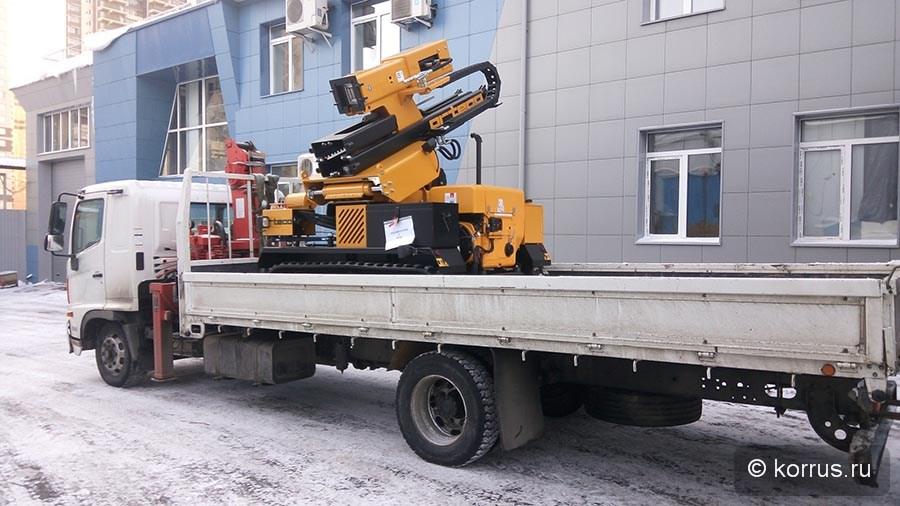 Сваебойная машина BTP HEAVY DUTY Покупателю из Республики Алтай