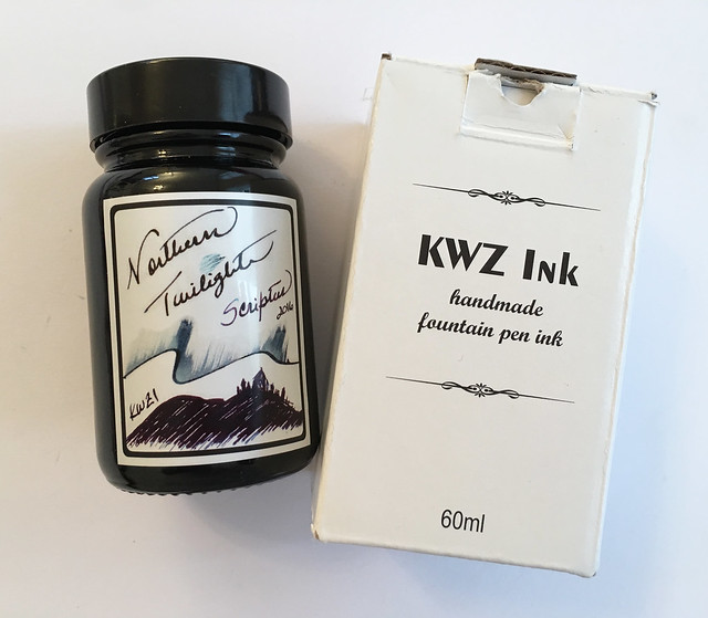 Ink Shot Review KWZI Northern Twilights for @ScriptusToronto 2016 2