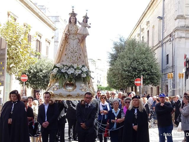 madonna del rosario Processione 2016