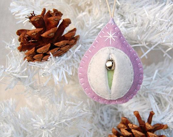 Необыкновенные новогодние украшения в виде… вагины - ПоЗиТиФфЧиК - сайт позитивного настроения!