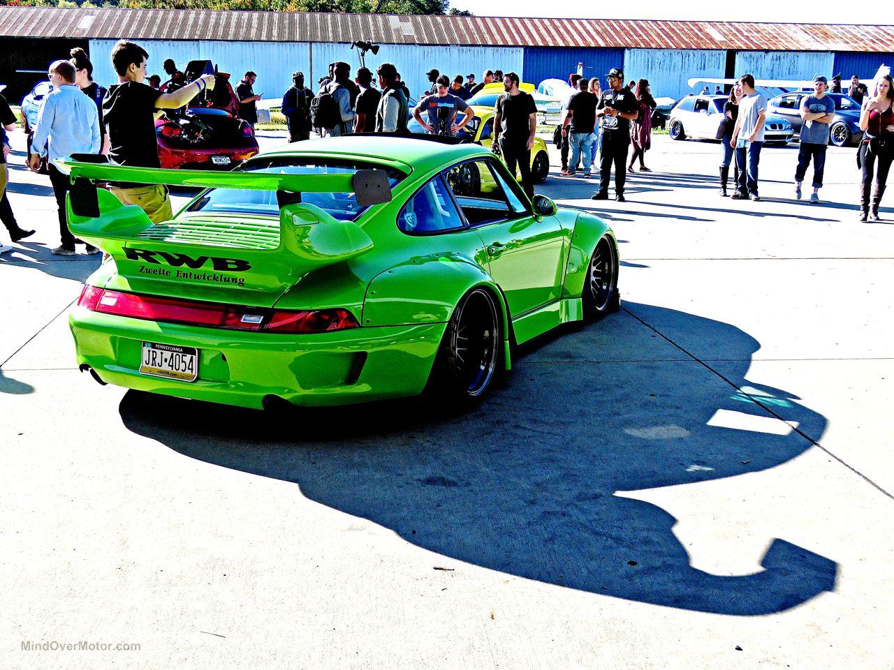 RWB Porsche 993 Philly 13