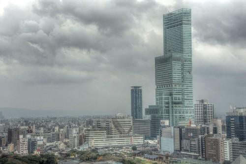 Views from 'TSUTENKAKU' tower on DEC 01, 2016 (21)