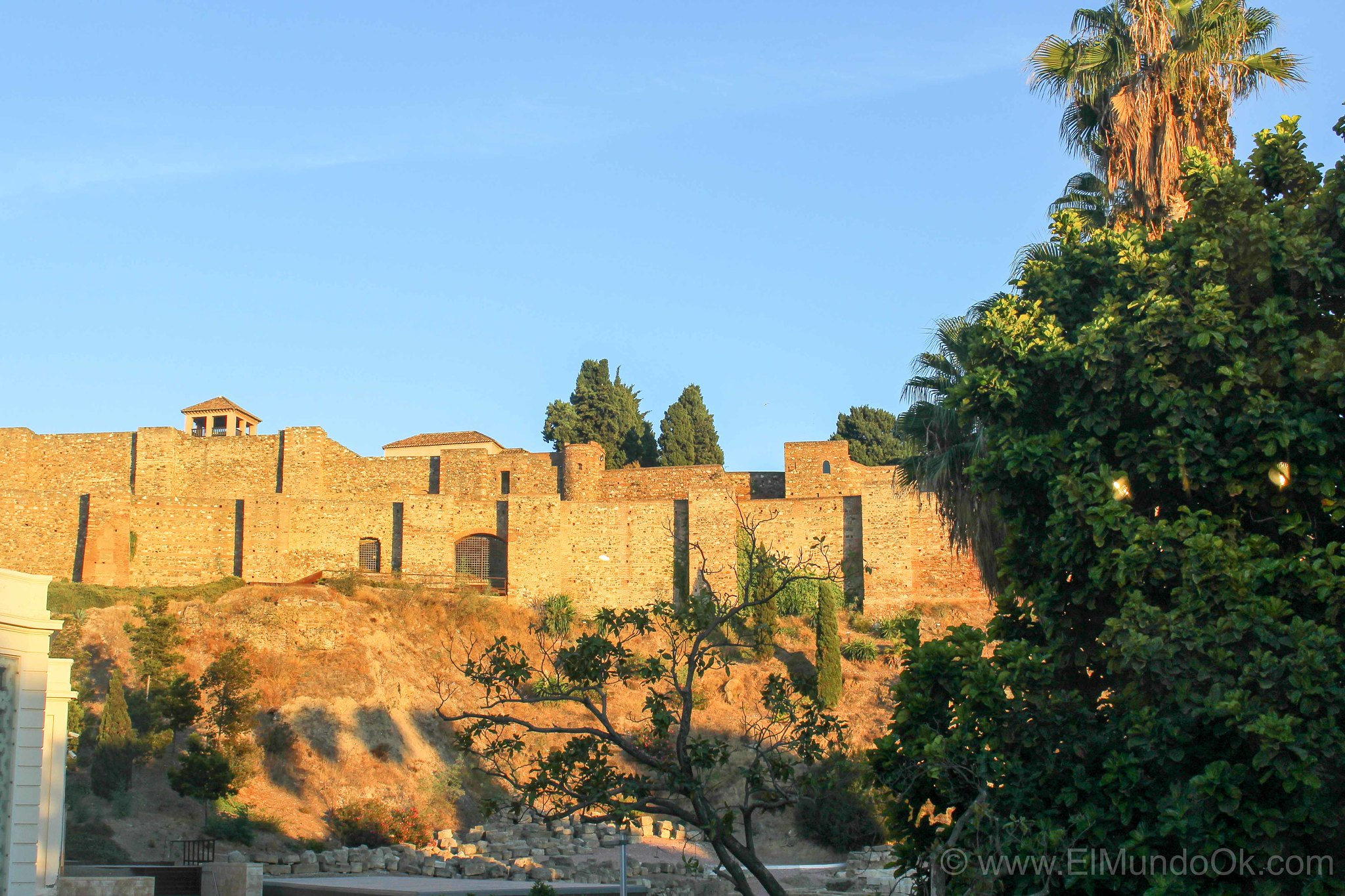 Vista de la Alcazaba Malaga_Elmundook