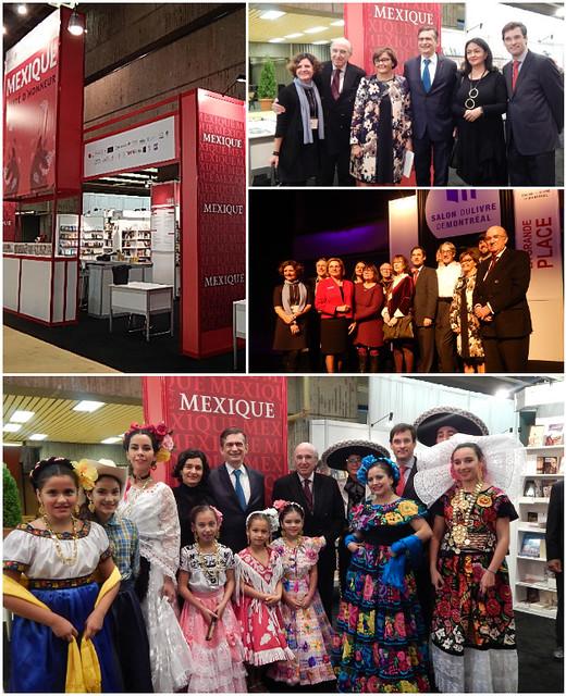 México invitado de honor de la Feria del Libro de Montreal 2016