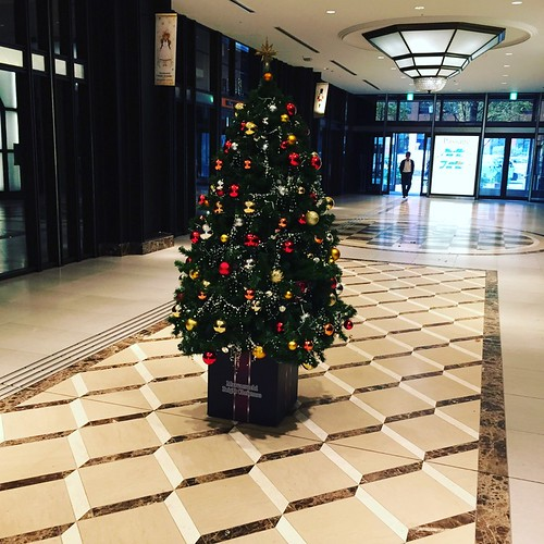 Christmas tree at Shin-marunouchi Building