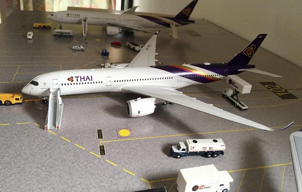 Thai Airways 1/200 Collection
