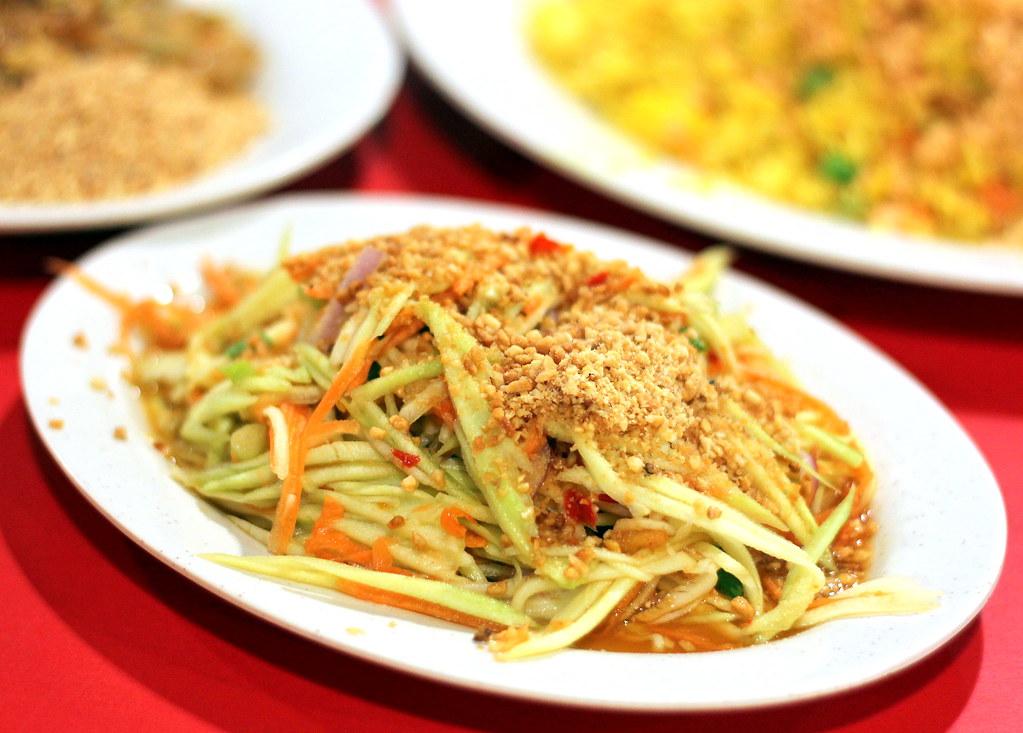 锡萨克泰国菜泰国芒果沙拉