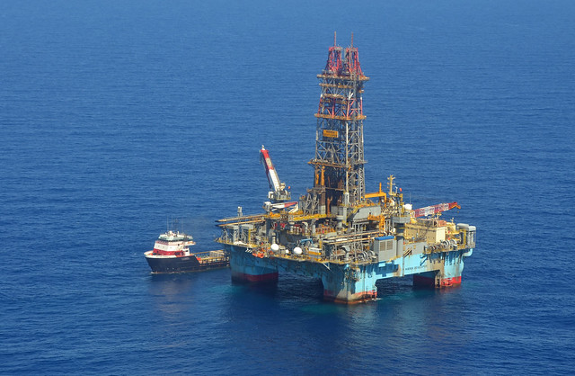 photo of the Maersk Developer in Gulf of Mexico