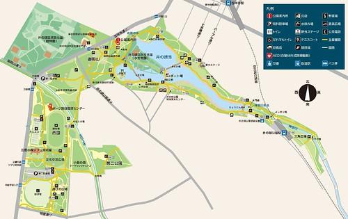井の頭恩賜公園 MAP