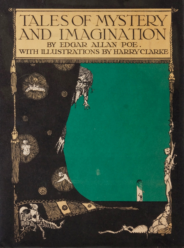 Clarke cover 1923 Poe's Tales of Mystery and Imagination