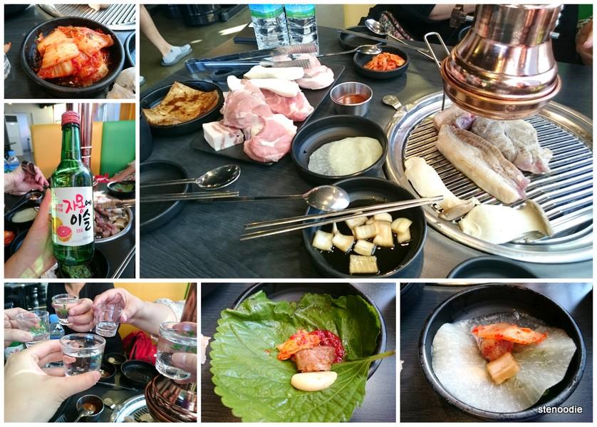 KBBQ in Myeongdong