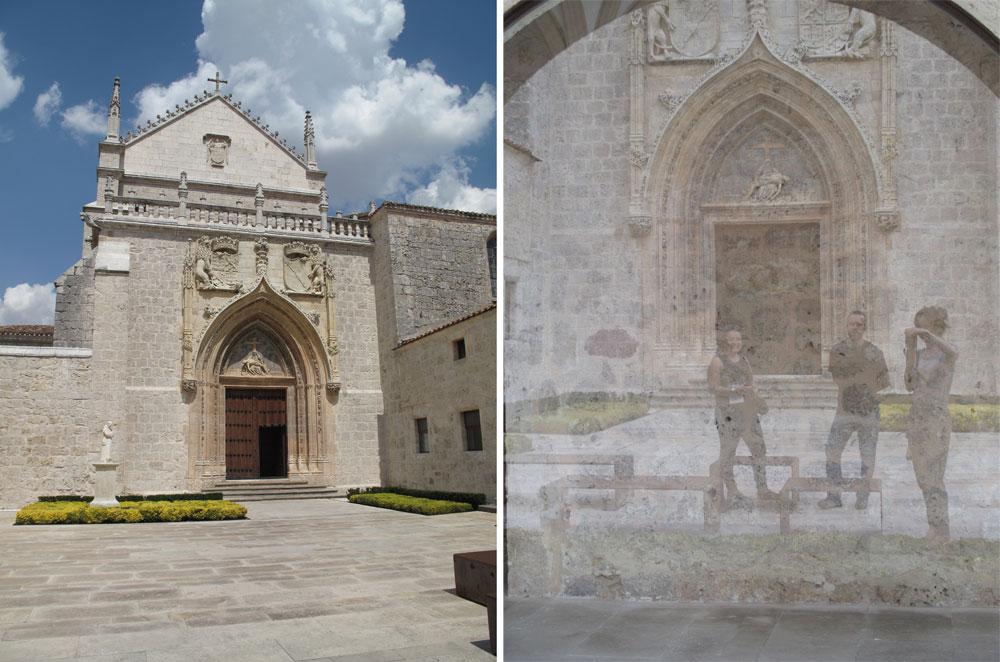 cartuja de miraflores_burgos_patrimonio_ruta no turistica_atrio de entrada_reharq_patio de entrada