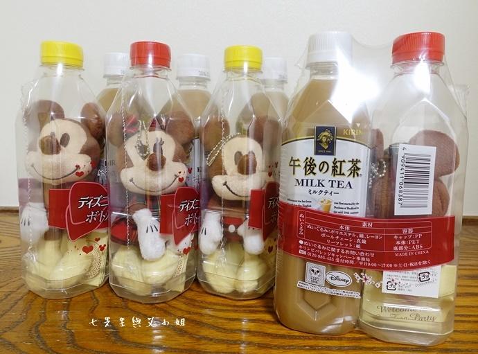 4 日本必買 午後的紅茶 米奇米妮吊飾娃娃限定組合