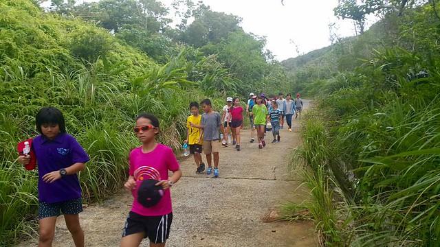 1050926中山健行訓練8km