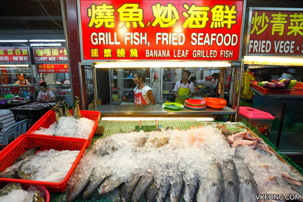 Sai Woo Grilled Fish Seafood Stall Jalan Alor