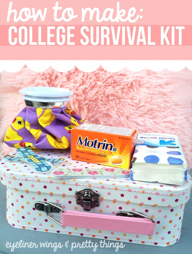 How To Make A College Survival Kit // eyeliner wings & pretty things