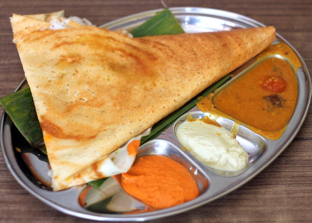 Gokul印度素食者Masala Dosa
