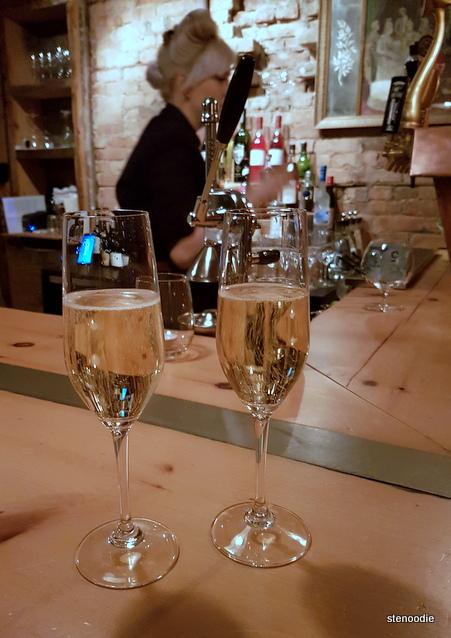 Maison Fou Brasserie sparkling wine