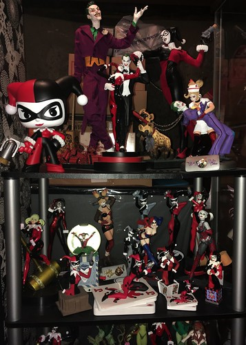 Some of my Harley Quinn stuff