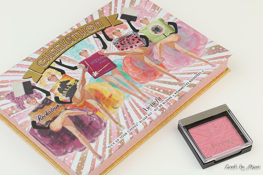 5 benefit cheekathon palette dandelion blush review kokemuksia rimmel blush swatch kokemuksia
