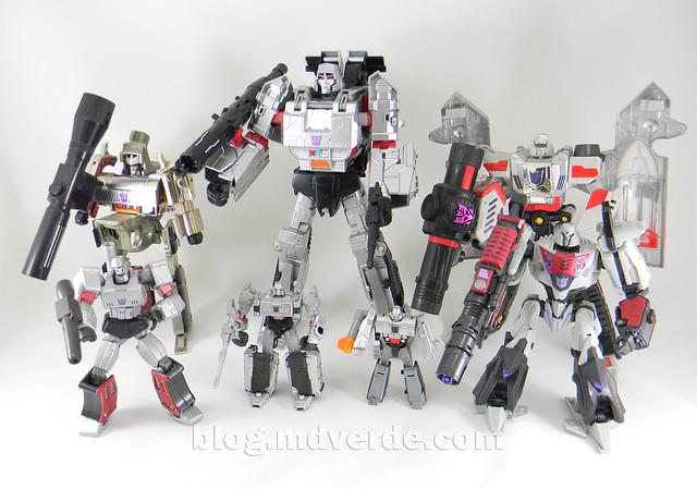 Transformers Megatron Legends - Transformers Generations Takara - modo robot vs otros Megatron