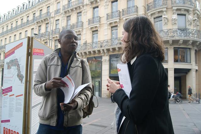 Métro Ligne 3 Toulouse - débat mobile square Charles de Gaulle