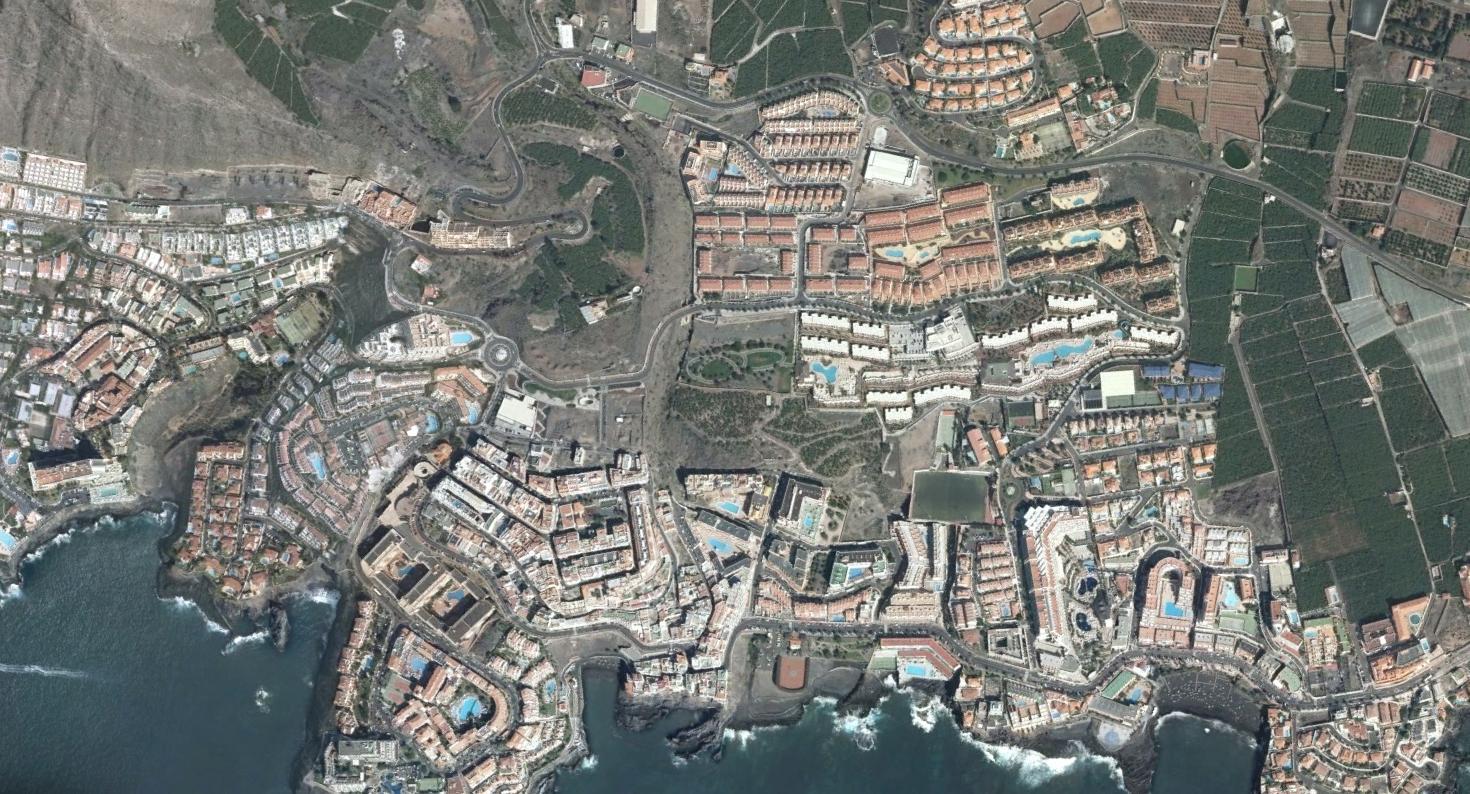 puerto de santiago, santa cruz de tenerife, gigantes del urbanismo, después, urbanismo, planeamiento, urbano, desastre, urbanístico, construcción, rotondas, carretera