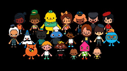 Character Design App Free : All characters toca town from by boca