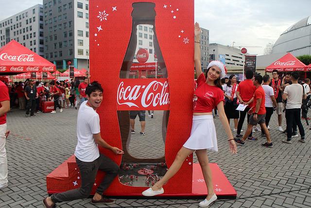 Coke Cola Tagahatid Pasko Christmas Concert Sirene Suton Model