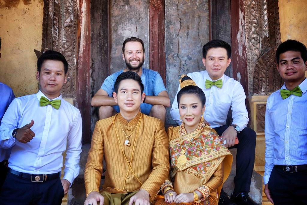 Vientiane - Wat Sisaket - Wedding