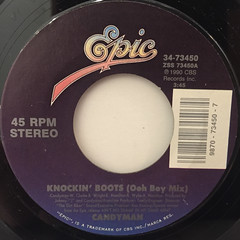 CANDYMAN:KNOCKIN' BOOTS(LABEL SIDE-A)