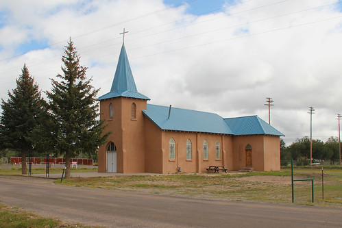 Saint Teresa Catholic Church, Corona, NM