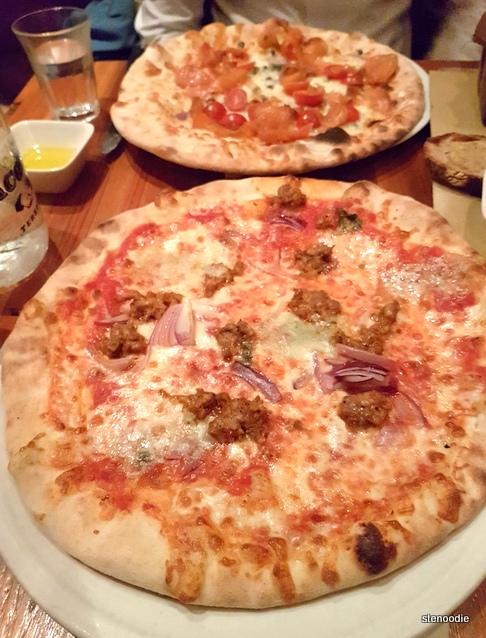 Terroni pizzas