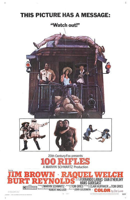 100 Rifles - Poster 2