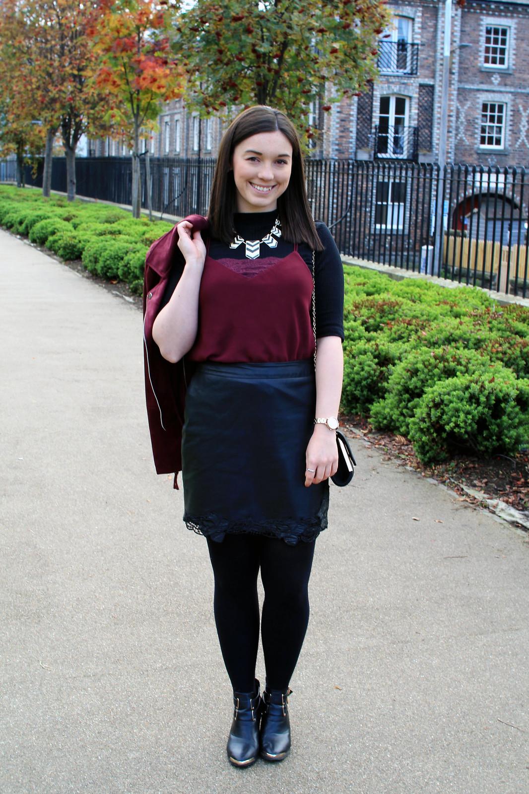 Cami layered t-shirt trend fashion blogger UK Edinburgh Scotland The Little Things