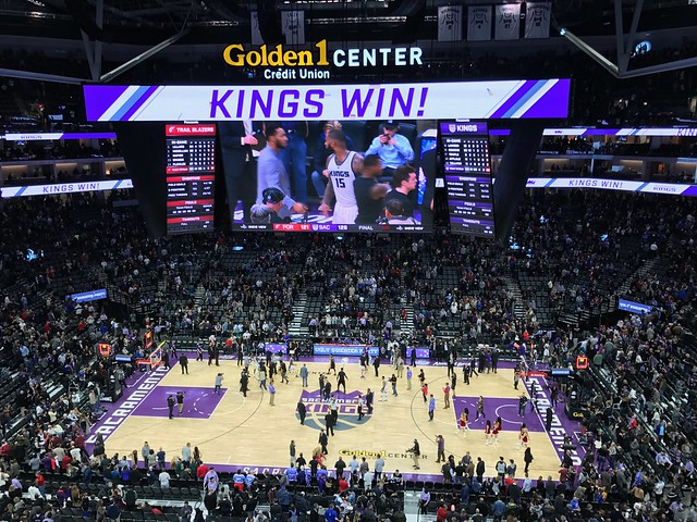 2016 Kings versus Trail Blazers