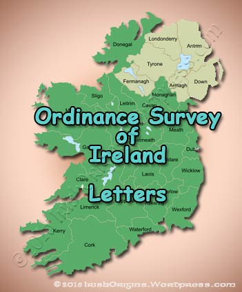 Ordinance Survey of Ireland: Letters