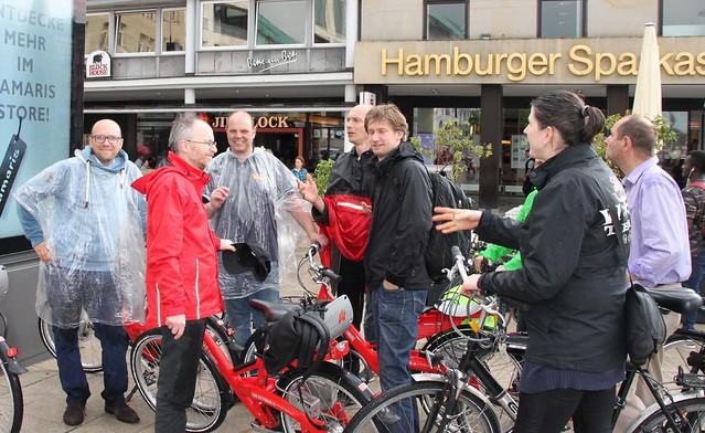 Fahrradtour HH-Mitte mit Matthias Gastel, 23. Mai 16