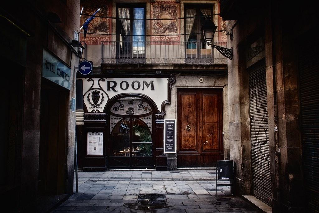 Ruelles du quartier du Gotico à Barcelone - Photo de Luis Marin