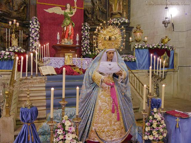 Besamanos a Ntra. Sra. del Sagrario y Fiesta Solemne