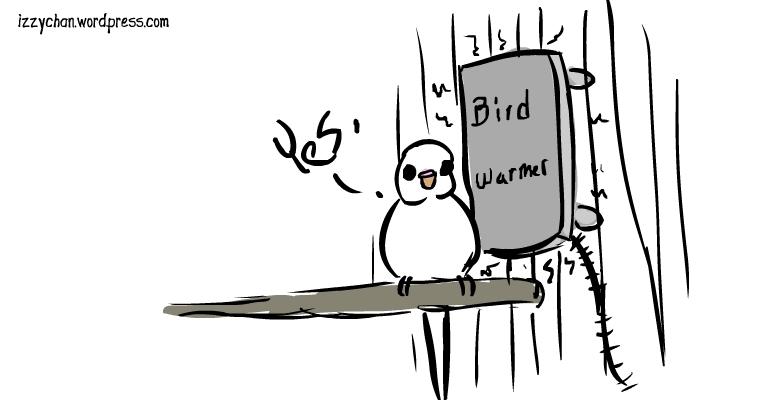 bird heater panel