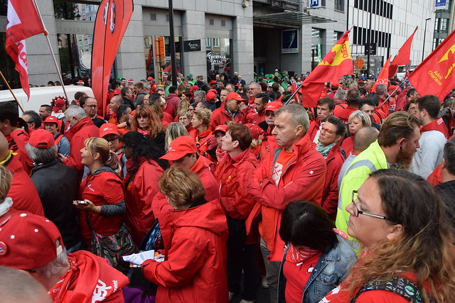 Manifestation Bruxelles 29 septembre 2016