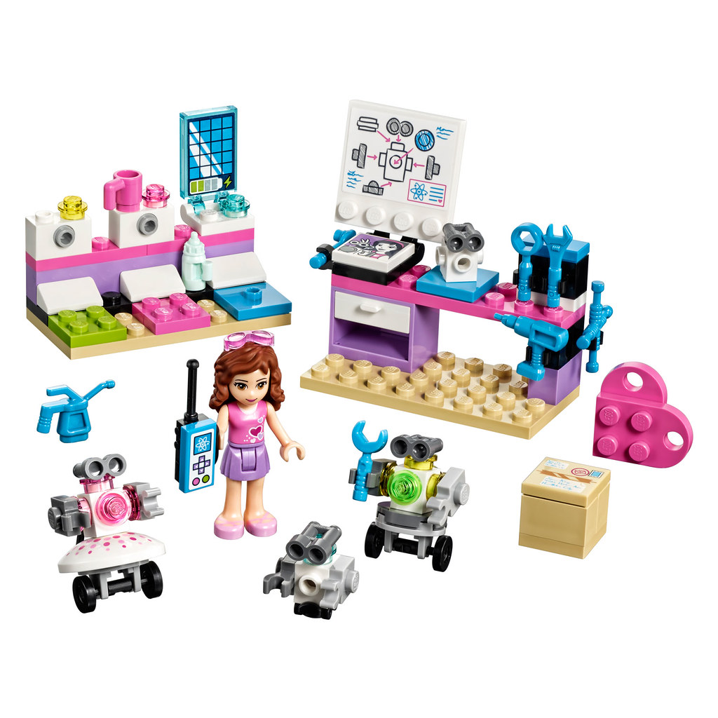 LEGO Friends Olivia's Inventor Lab (41307)