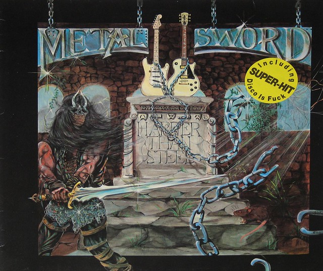 "METAL SWORD HARDER THAN STEEL 12"" viNYL LP"