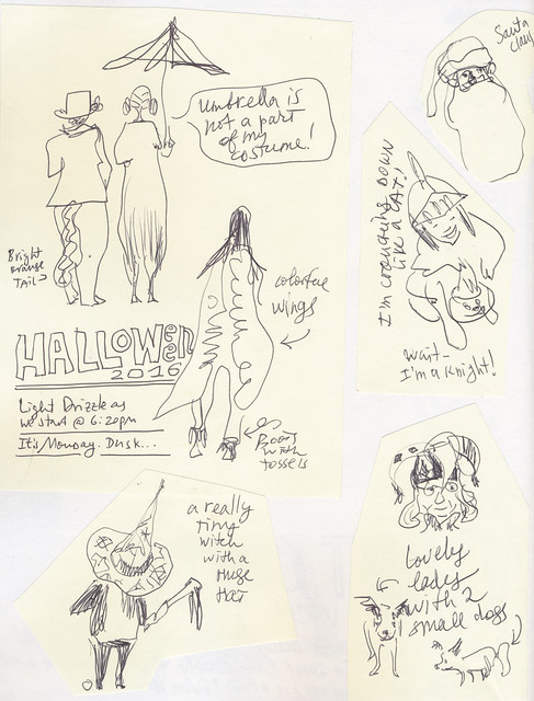 Sketchbook #101: Halloween Memorabilia