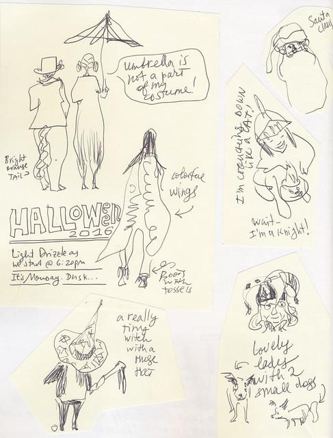 Sketchbook #101: Halloween Memorabilia