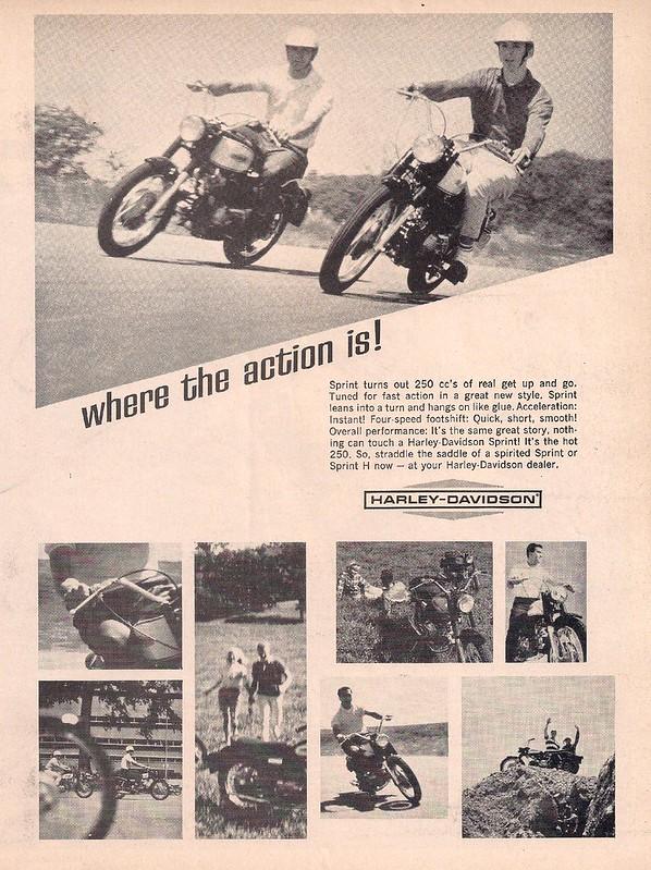 Harlrey-Davidson Sprint