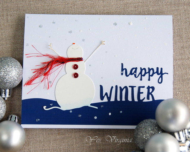 happy winter (close-up)